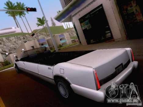 Stretch Cabrio für GTA San Andreas rechten Ansicht