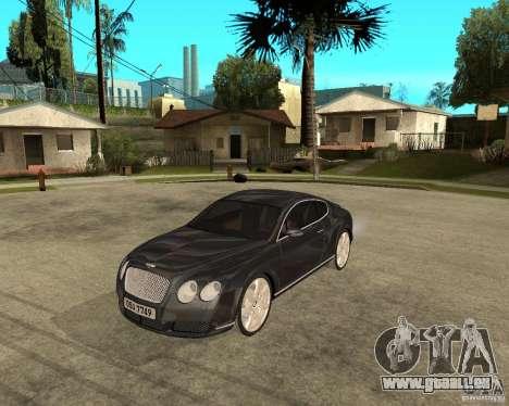 Bentley Continental GT für GTA San Andreas