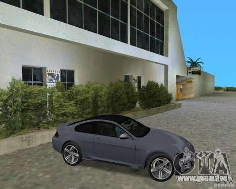 BMW M6 pour une vue GTA Vice City de la droite