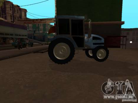 Traktor МТЗ 922 für GTA San Andreas zurück linke Ansicht