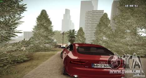 ENB Graphics Mod Samp Edition pour GTA San Andreas quatrième écran