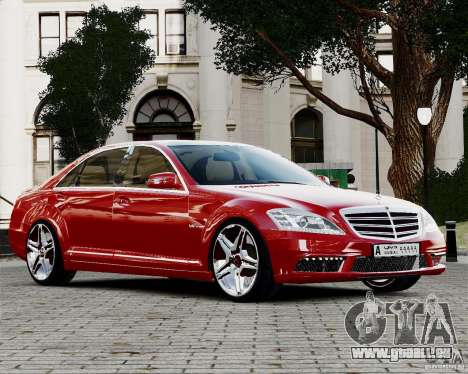 Mercedes-Benz S65 AMG 2010 Final pour GTA 4