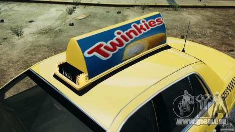 Ford Crown Victoria NYC Taxi 2004 pour GTA 4