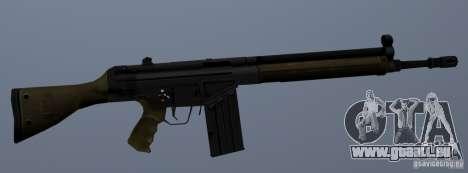 Fusil d'assaut G3A3 pour GTA San Andreas