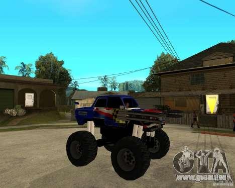 ZAZ-MONSTER für GTA San Andreas rechten Ansicht