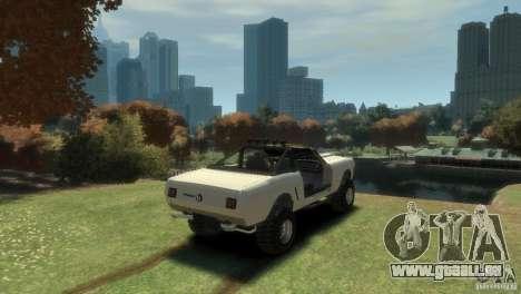 Ford Mustang Sandroadster 1.0 für GTA 4 hinten links Ansicht