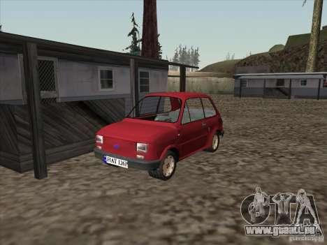 Fiat 126p Elegant für GTA San Andreas