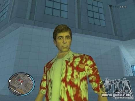 Tony Montana pour GTA San Andreas deuxième écran