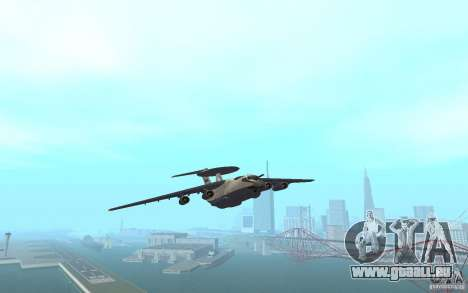 Berijew A-50 Mainstay pour GTA San Andreas