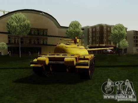 Type 59 GOLD Skin für GTA San Andreas zurück linke Ansicht