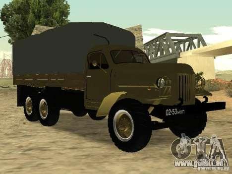 ZIL 157 für GTA San Andreas Rückansicht