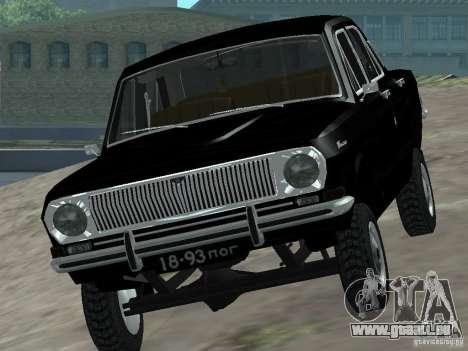 95 VOLGA GAZ-24 pour GTA San Andreas vue de droite