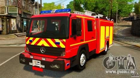 Mercedes-Benz Atego FPTGP Sapeurs Pompiers ELS für GTA 4