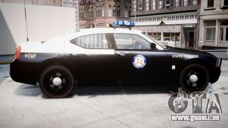 Dodge Charger Florida Highway Patrol [ELS] für GTA 4 linke Ansicht