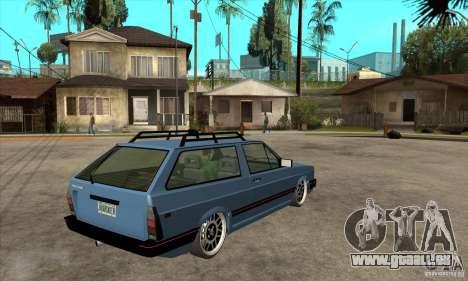 VW Fox 1989 v.2.0 für GTA San Andreas rechten Ansicht