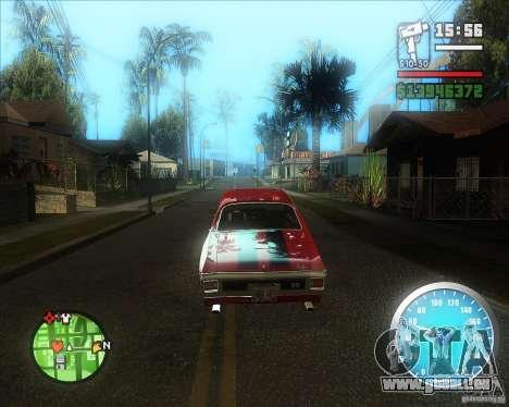 MadDriver s ENB v.3.1 pour GTA San Andreas deuxième écran