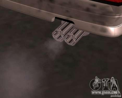 Taxi Cabriolet pour GTA San Andreas vue de droite