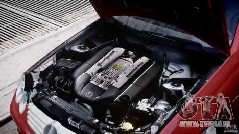 Mercedes-Benz CLK 63 AMG 2005 pour GTA 4 Vue arrière