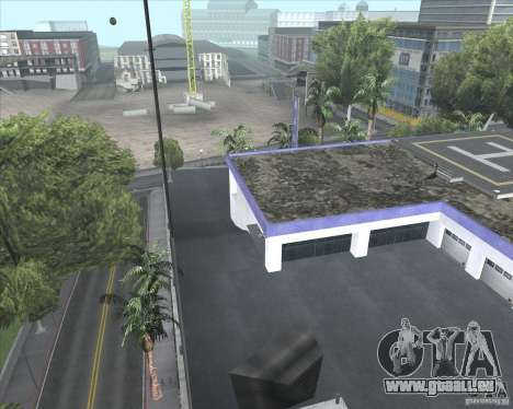 Un garage Wang Cars pour GTA San Andreas troisième écran