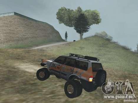 Tornalo 2209SX 4x4 pour GTA San Andreas sur la vue arrière gauche