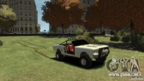 Ford Mustang Sandroadster 1.0 für GTA 4 rechte Ansicht