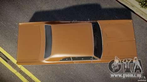 Plymouth Fury III Coupe 1969 pour GTA 4 est un droit