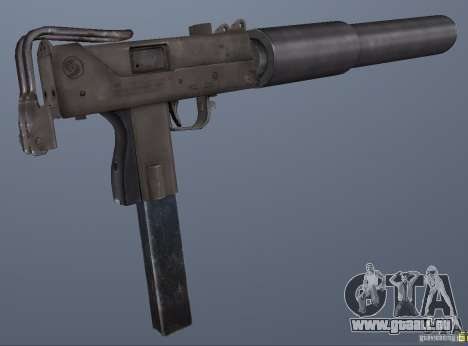 GRIMs Mac10 Silenced pour GTA San Andreas