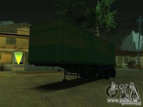 Container-Reederei + Sovtransavto für GTA San Andreas linke Ansicht