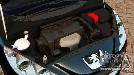 Peugeot 308 2007 für GTA 4 Seitenansicht