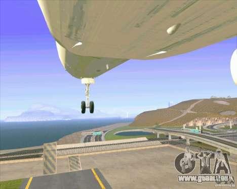 Airbus A-320 compagnie aérienne UTair pour GTA San Andreas salon