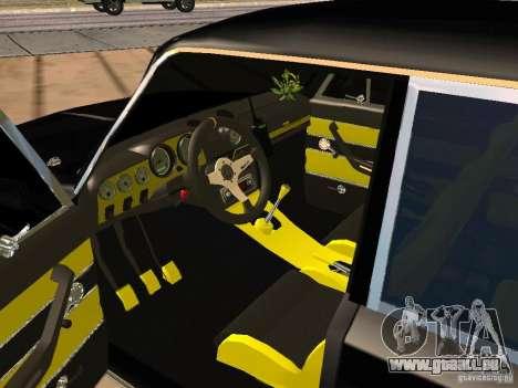 VAZ 2103 Tuning pour GTA San Andreas sur la vue arrière gauche