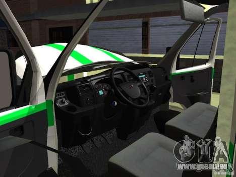 Business 3302 gazelle pour GTA San Andreas vue de côté