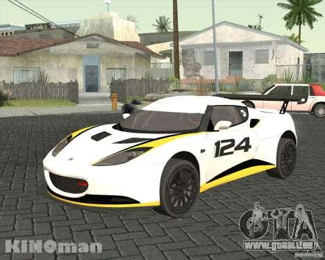 Lotus Evora Type 124 pour GTA San Andreas