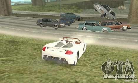 Porsche Carrera GT 2003 pour GTA San Andreas laissé vue