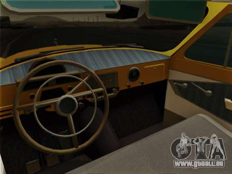 GAZ 22 pour GTA San Andreas vue de dessus