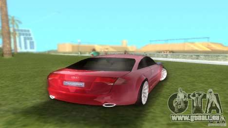 Audi Nuvolari Quattro pour une vue GTA Vice City de la droite