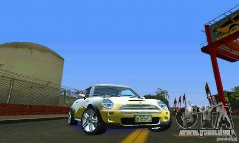 Mini Cooper S für GTA Vice City rechten Ansicht