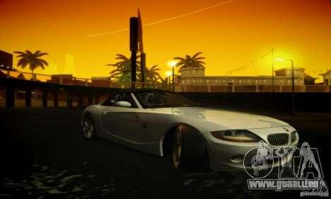 BMW Z4 für GTA San Andreas Rückansicht