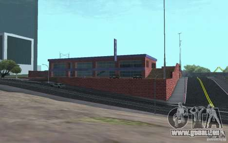 Neue Autohändler Wang Cars für GTA San Andreas sechsten Screenshot