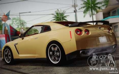 Nissan GTR Egoist pour GTA San Andreas vue de droite