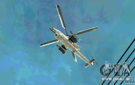 AH-1Z Viper für GTA San Andreas Rückansicht