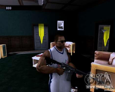 Guns Pack für GTA San Andreas zweiten Screenshot