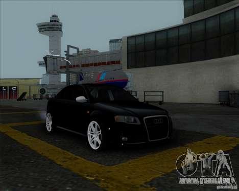 Audi RS4 für GTA San Andreas obere Ansicht