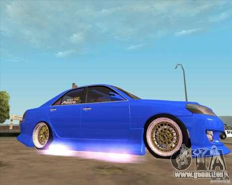 Toyota JZX110 make 2 für GTA San Andreas rechten Ansicht