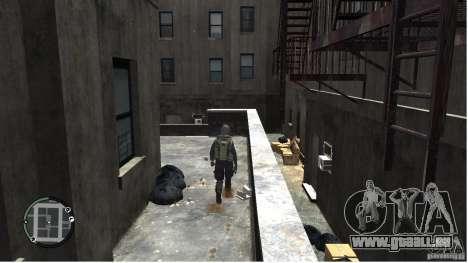 MW2 Ghost Diving Suit für GTA 4 fünften Screenshot