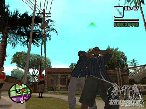Seringue pour GTA San Andreas quatrième écran