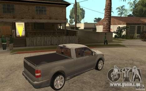 Saleen S331 Super Cab pour GTA San Andreas vue de droite