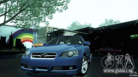 Subaru Legacy B4 3.0R specB für GTA San Andreas zurück linke Ansicht