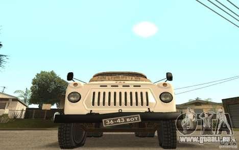 GAZ-52 für GTA San Andreas Seitenansicht