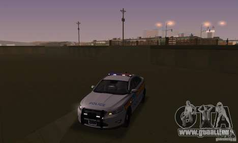 Lampes stroboscopiques pour GTA San Andreas deuxième écran